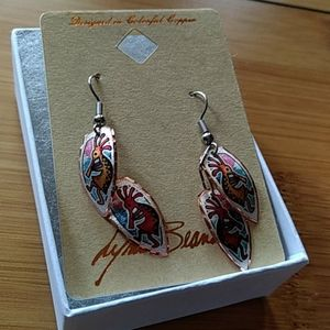 Jewelry - brand new copper earrings